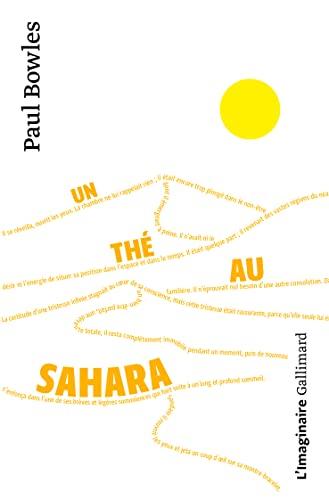 9782070216826: Un thé au Sahara (L'imaginaire)