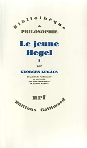Le Jeune Hegel, tome 1: Lukacs, G.