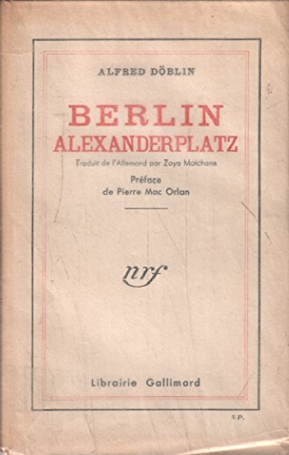 9782070219292: Berlin Alexanderplatz