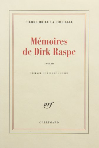 9782070220120: Mémoires de Dirk Raspe