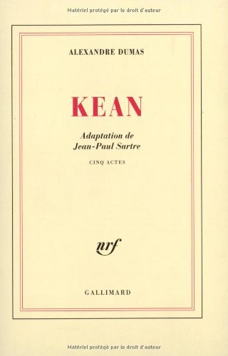 9782070220557: Kean (French Edition)