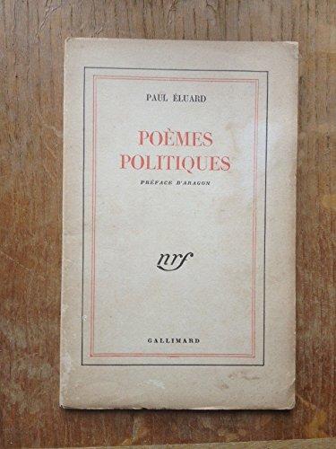 Poèmes politiques: Eluard