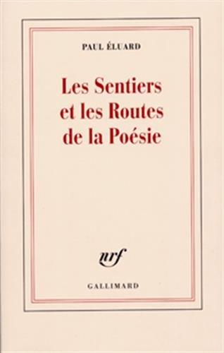 9782070222094: les sentiers et les routes de la poesie