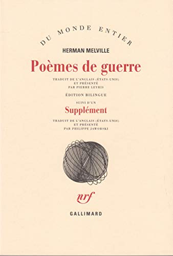 9782070222872: Poemes de guerre (French Edition)