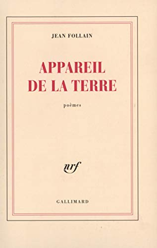 9782070224340: Appareil de la terre (French Edition)