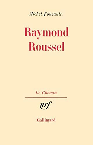 Raymond Roussel (207022483X) by Foucault, Michel