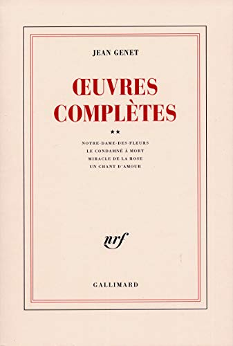 Oeuvres Completes Tome 2: Genet, Jean