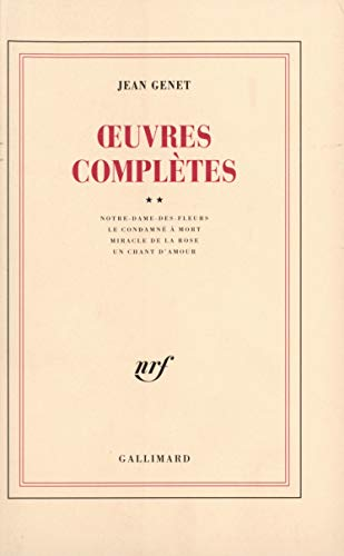 Oeuvres Completes Tome 3: Genet, Jean