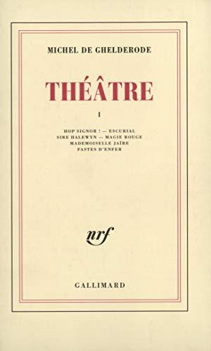 9782070227419: Théâtre
