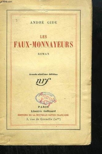 9782070227709: Les faux-monnayeurs (Blanche)
