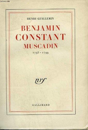 9782070230396: Benjamin constant muscadin