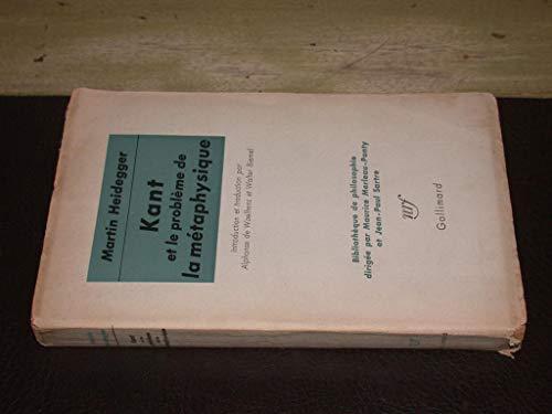 9782070231393: Kant et le problème de la métaphysique