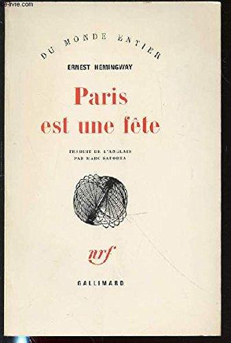 9782070231720: Paris est une fête