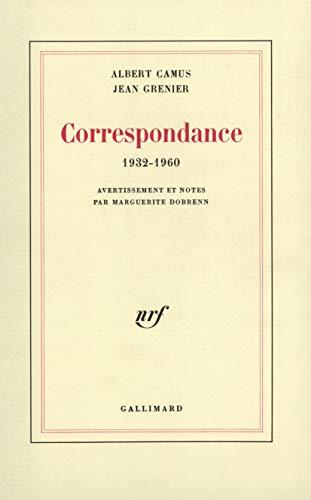 9782070231751: Correspondance 1932-1960 (French Edition)