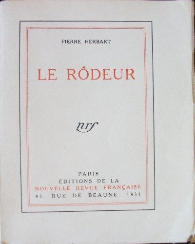 9782070231812: Le Rôdeur
