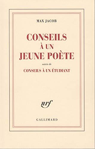 9782070233441: Conseils à un jeune poète / Conseils à un étudiant