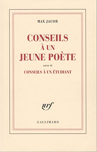 9782070233441: Conseils � un jeune po�te / Conseils � un �tudiant