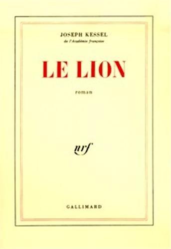 9782070235810: Le Lion
