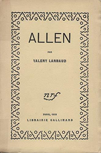 9782070237364: Allen
