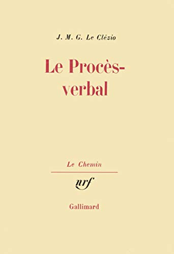 9782070238217: Le Proc�s-verbal