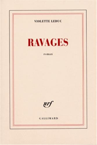 9782070238330: Ravages (French Edition)