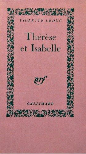 9782070238385: Thérèse et Isabelle