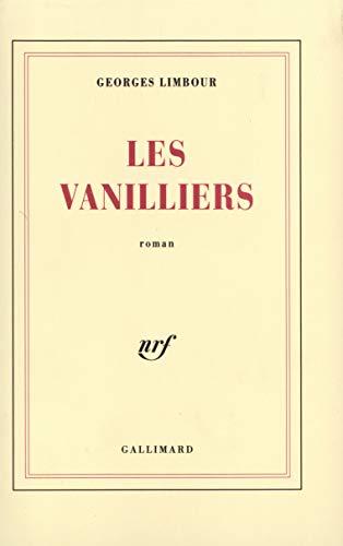 9782070239597: Les vanilliers roman (BLANCHE)