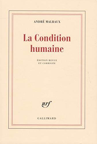9782070241316: La condition humaine (BLANCHE)