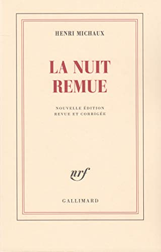 9782070244461: La nuit remue (French Edition)