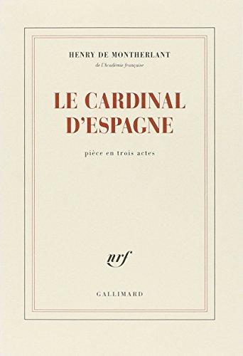9782070245895: Le cardinal d'Espagne