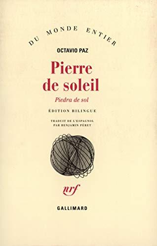 9782070249596: Pierre de soleil (Du monde entier)