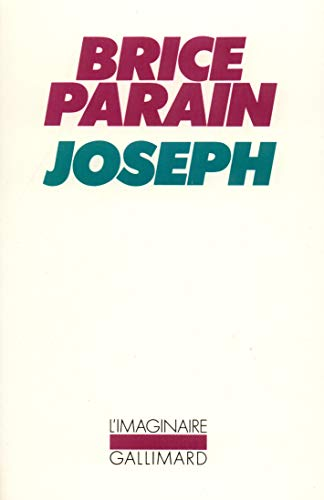 9782070251797: Joseph (French Edition)