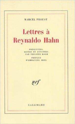 9782070252848: Lettres à Reynaldo Hahn (Blanche)