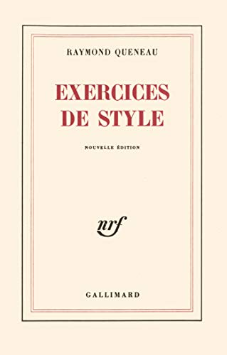 9782070253104: Exercices de style (French Edition)