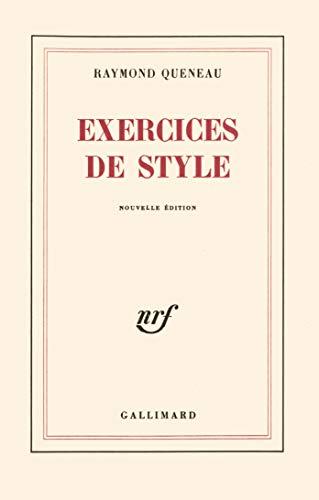 Exercices de style (French Edition): ramond queneau