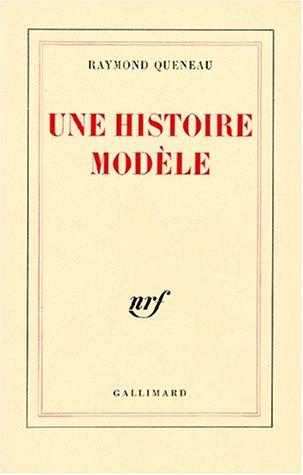 9782070253234: Une histoire modèle