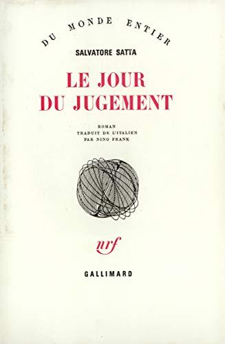 Le Jour du jugement [Sep 03, 1981]: Salvatore Satta