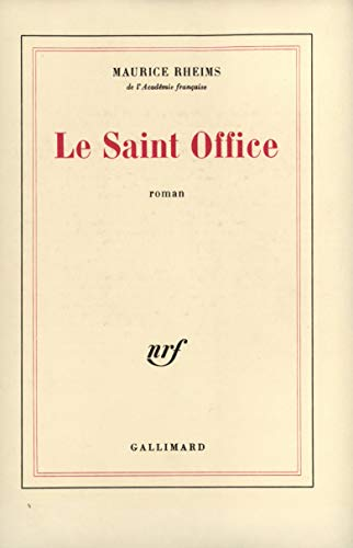 9782070253876: Le Saint Office