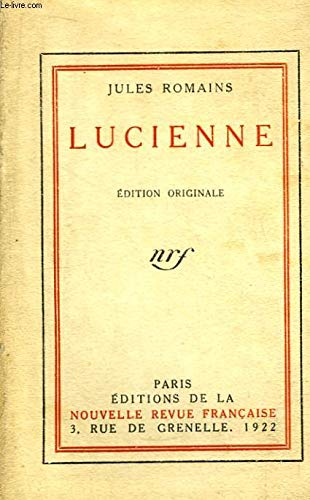 9782070255009: Lucienne