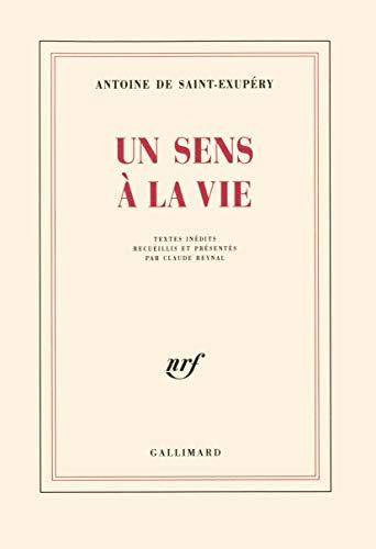 9782070256679: Un sens à la vie (French Edition)