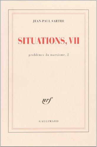 9782070257775: Situations, tome 7