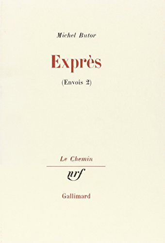 Expres (Envois) (French Edition): Butor, Michel
