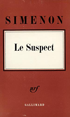 9782070259458: Le Suspect (Hors série)