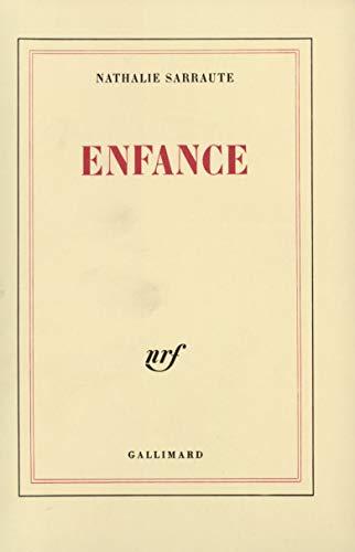 Enfance (French Edition): Sarraute, Nathalie