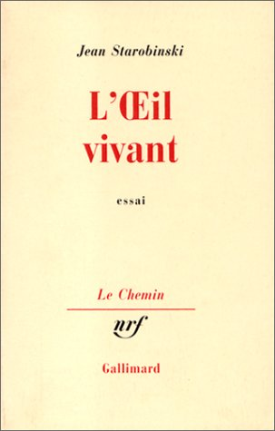 9782070260607: L'OEil vivant (Le Chemin) (French Edition)