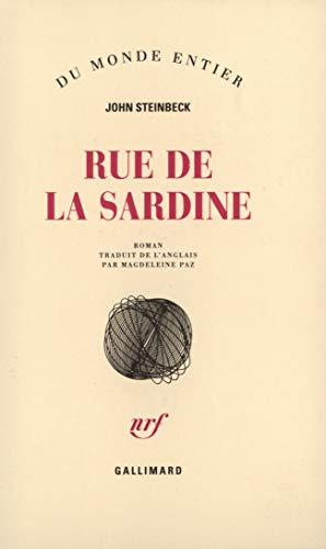 9782070260713: Rue de la sardine