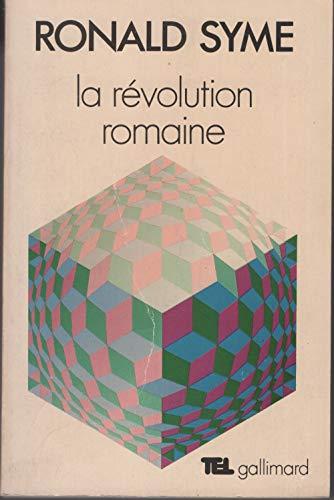 9782070261628: La révolution romaine (La Suite des temps)