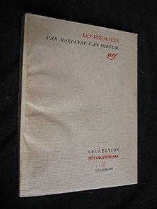 Les insolites [Feb 23, 1956] Van Hirtum