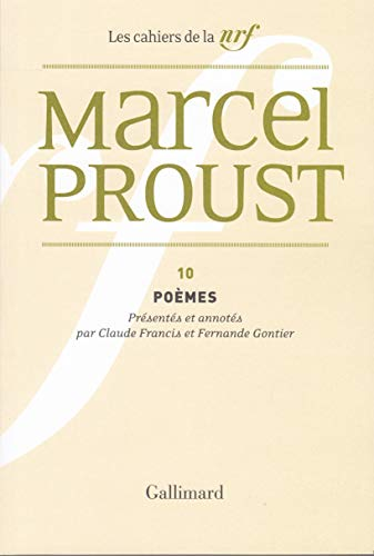 9782070265138: Poèmes (Cahiers Marcel Proust) (French Edition)