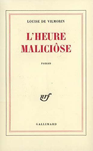 9782070265503: L'Heure maliciôse